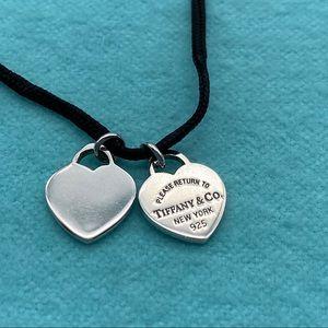 Tiffany & Co. sterling silver mini hearts